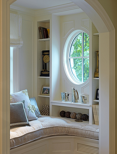 Home Improvement Idea: The Perfect Reading Nook