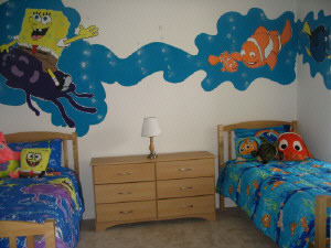 Spongebob and Nemo Bedroom Design A Fun DIY Home Decor Project