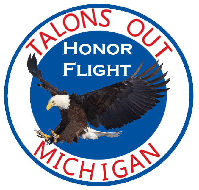 Talons Out Honor Flight logo