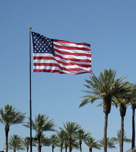 First american flag pictures for Flag etiquette at home