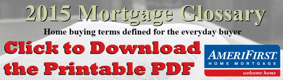 mortgage glossary 2014 banner