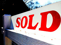 mortgage pre approval sold sign