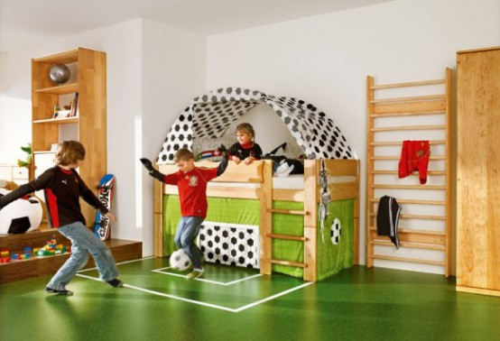 pinterest diy home improvement kids room soccer