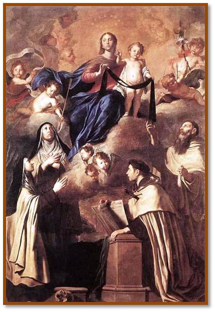 Our Lady of Mount Carmel, Pray for us.