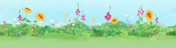 i play. flower garden