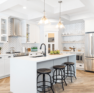 Classy Countertop Ideas for Our Design Team Glenridding Kitchen Image