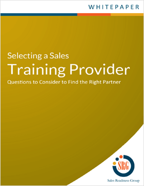 Questions to consider to find the right sales training partner.
