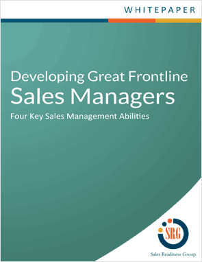 Developing Great Sales Managers Whitepaper