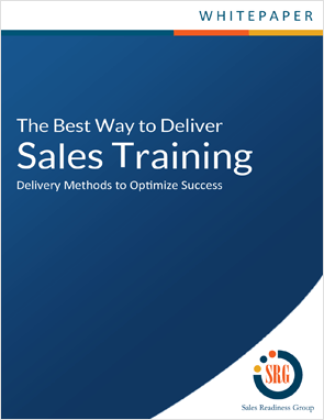 The Best Way to Deliver Sales Training