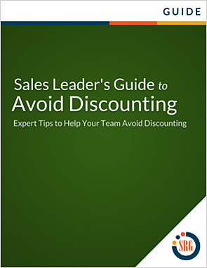 A Sales Leader's Guide to Avoid Discounting