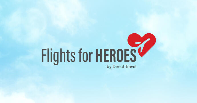 Announcing 'Flights for Heroes': Nominate a Healthcare Professional