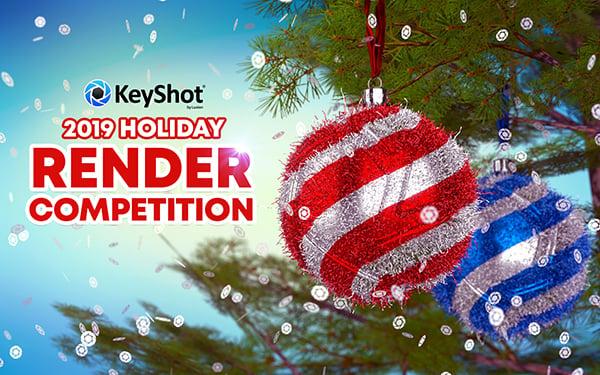 KeyShot 2019 Holiday Render Competition