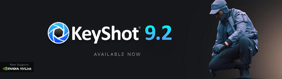 KeyShot 9.2 Now Available
