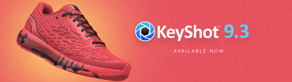 KeyShot 9.3 Now Available