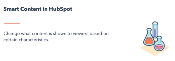 smart content in hubspot