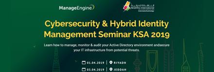 Cybersecurity & Hybrid Identity Management Seminar - 2019