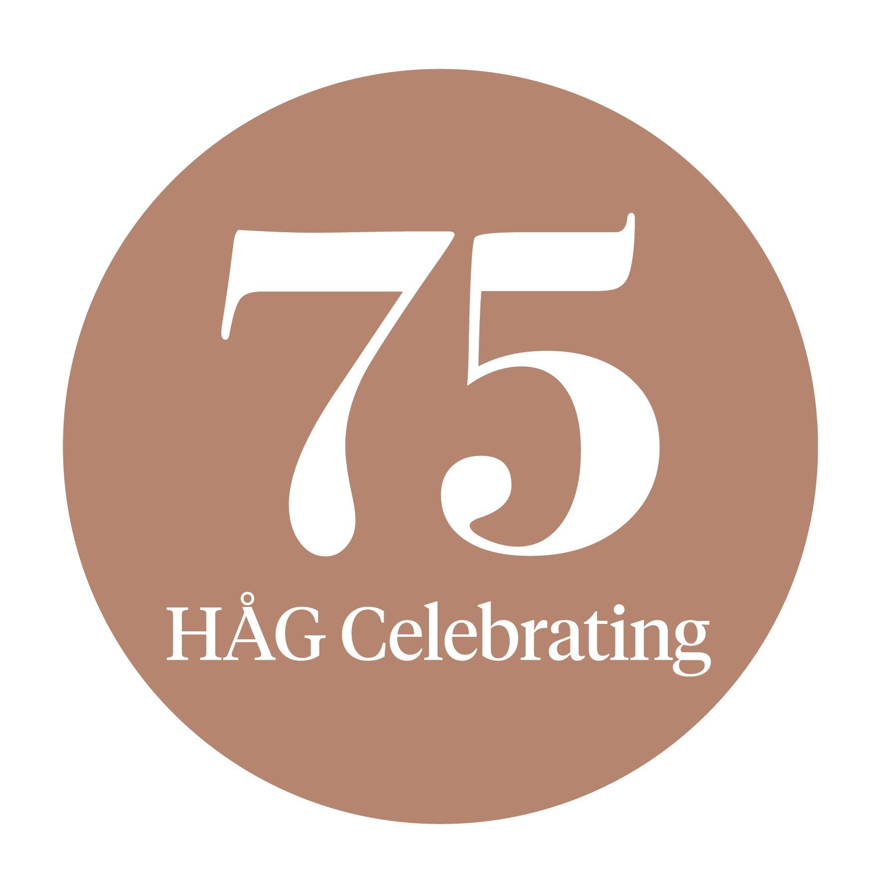 HA¦èG 75 logo 1