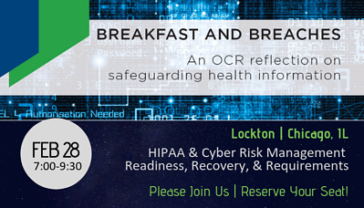 Breakfast and Breaches Onsite in Chicago