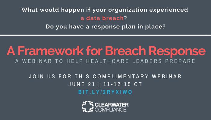 June 21 Breach Response Webinar