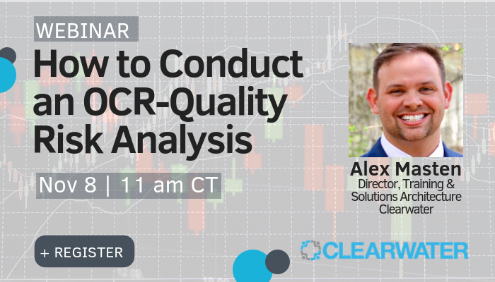 How To Conduct OCR-Quality Risk Analysis