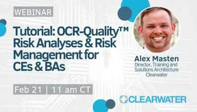 OCR-Quality™ Risk Analyses & Risk Management for   CEs & BAs