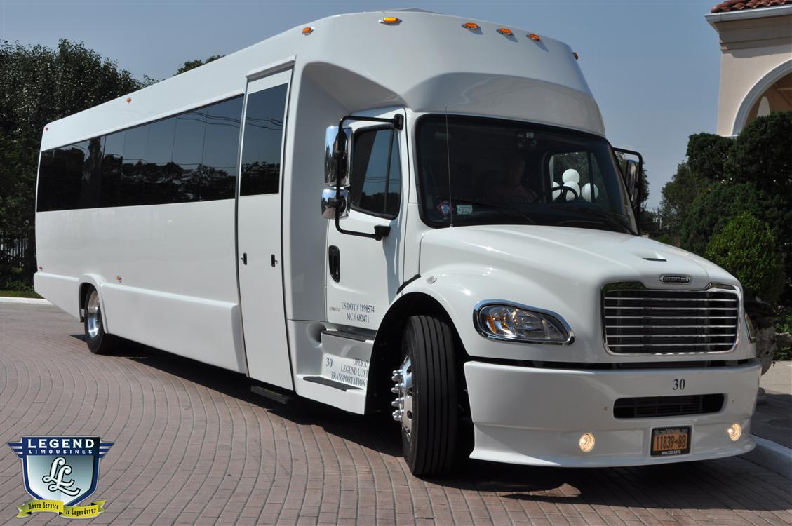 Legend Limousines Inc Custom 30 Passenger Party Bus 30 Person Party Bus Long Island New