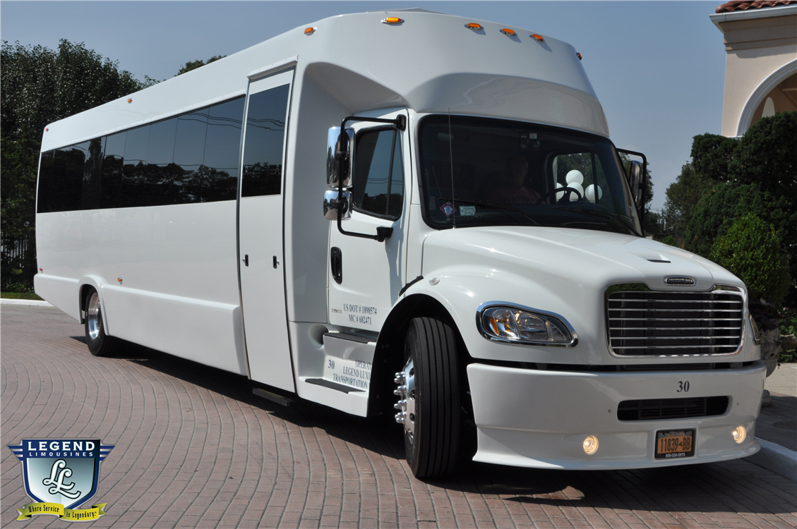 Legend Limousines Inc Custom 30 Passenger Party Bus