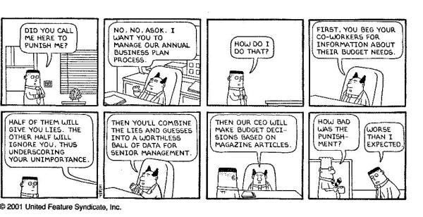 Dilbert Business Plansand Sales