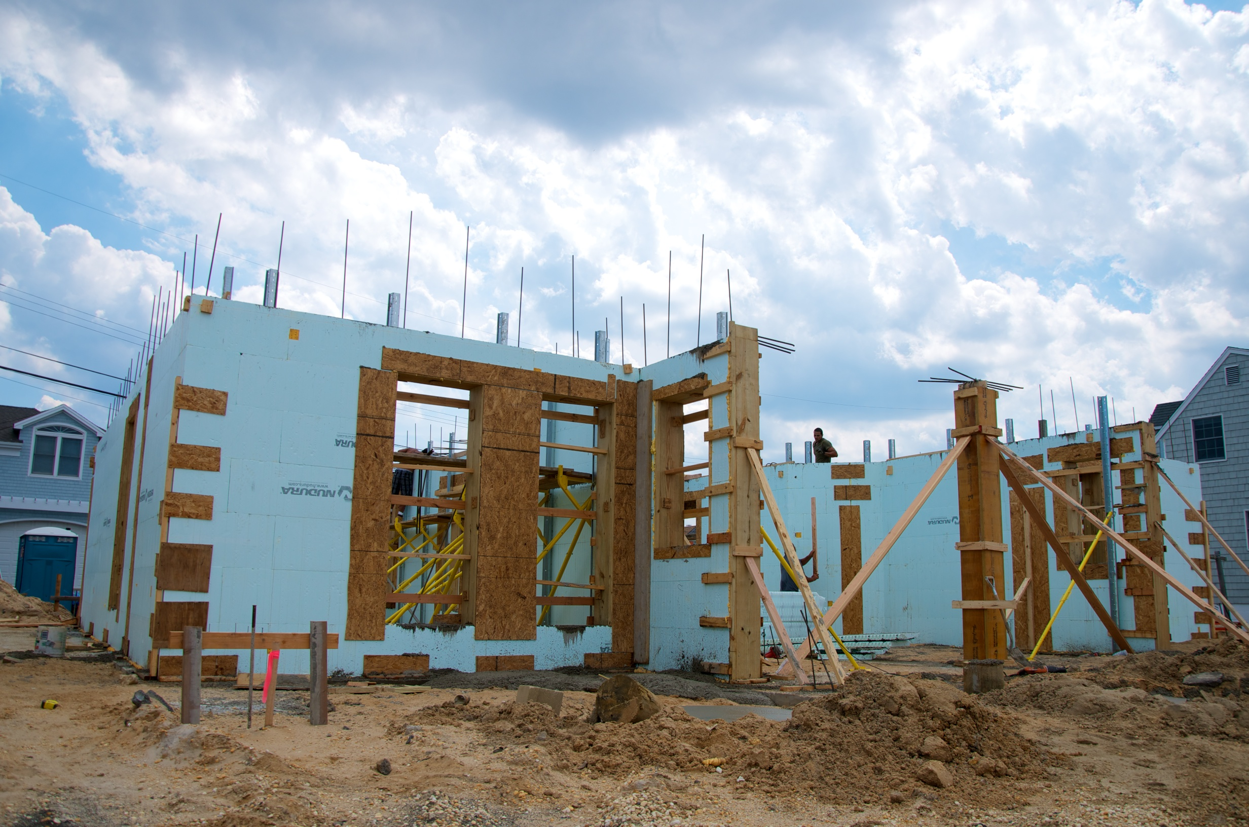 hurricane proof home with ICF Forms