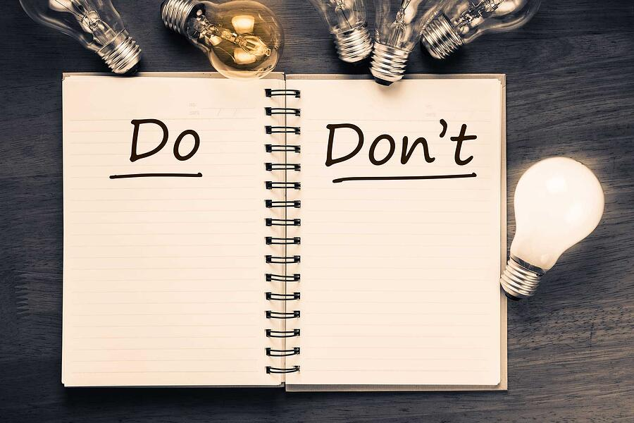 De do's & don'ts van digital publishing