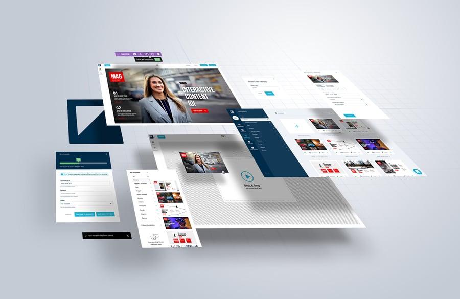 Produkt-Update: Sparen Sie Zeit und bleiben Sie Ihrer Marke treu mit dem neuen Template-Manager