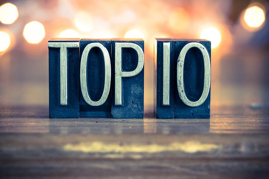 The 10 most popular ways to use your web publications