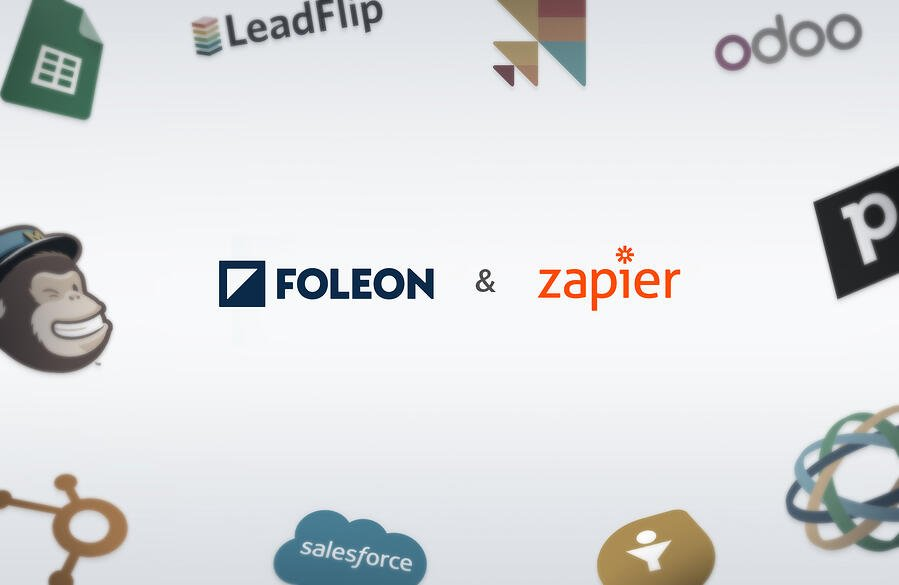Product update: Use Zapier to Connect Foleon to Your CRM (and 1,000+ Other Apps)
