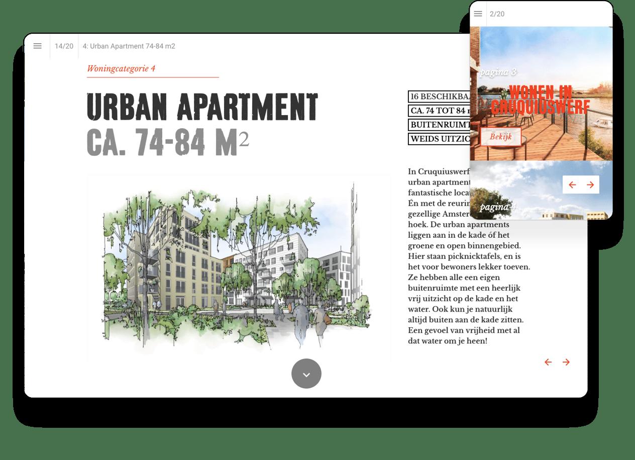 interactive brochure example AM
