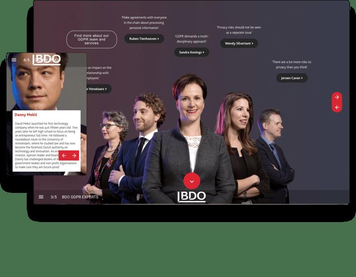 BDO Interactive Brochure Example