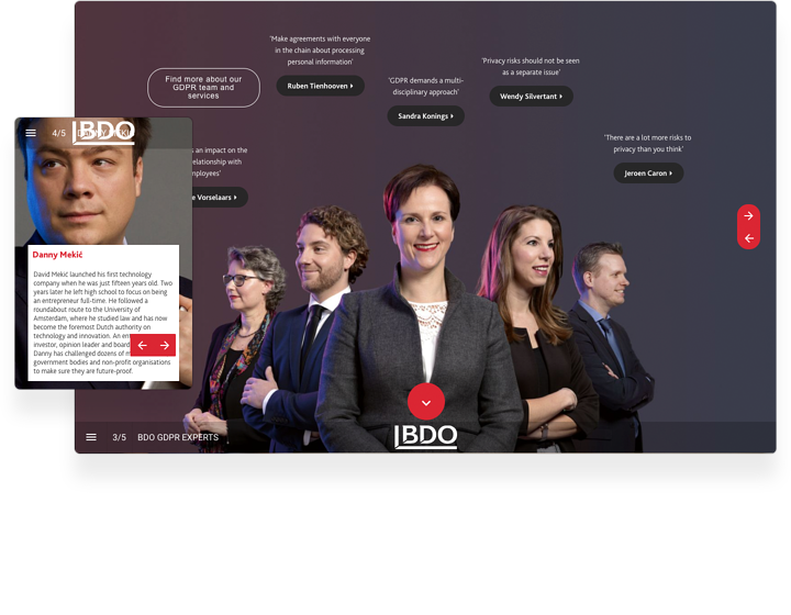 BDO Interactive Brochure Example