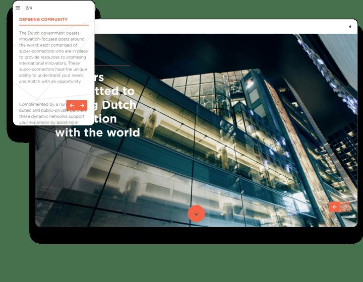 Startup Delta Interactive Brochure Example