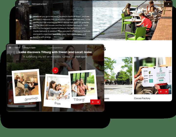 Visit Brabant Interactieve Brochure Voorbeeld