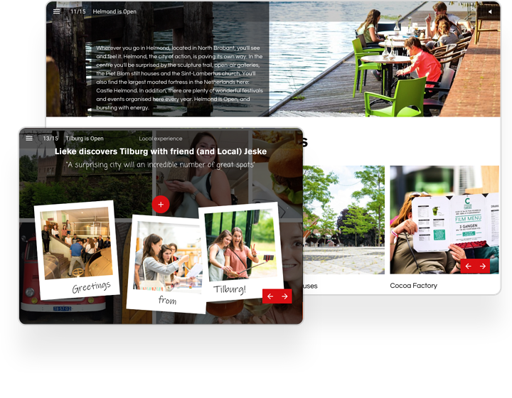 examples of digital interactive brochures instant magazine