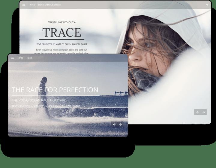 Volvo Interactive Catalog Example