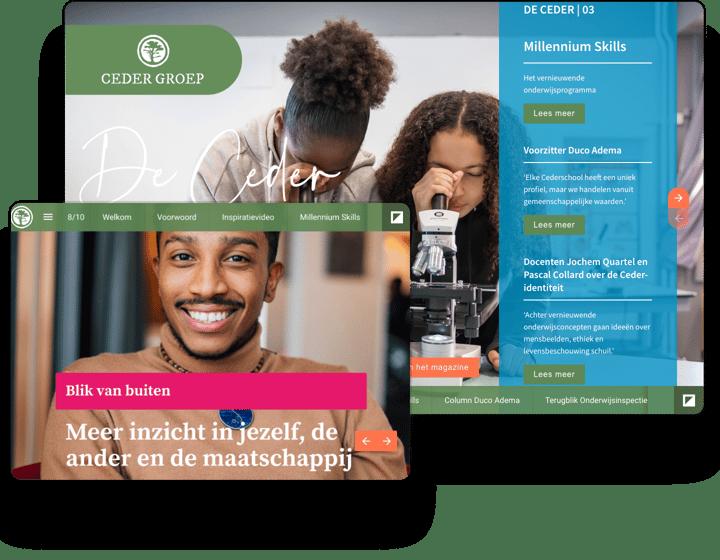 interactive-example-magazine-cedergroep