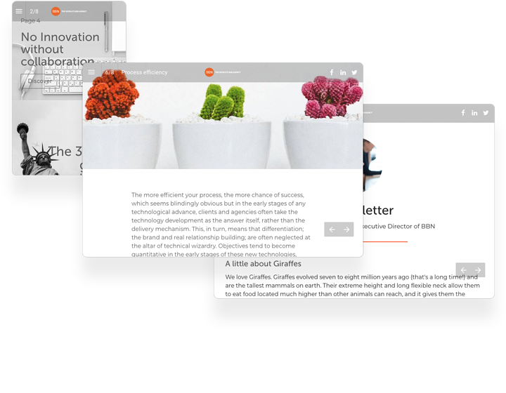 BBN Interactive Magazine Example