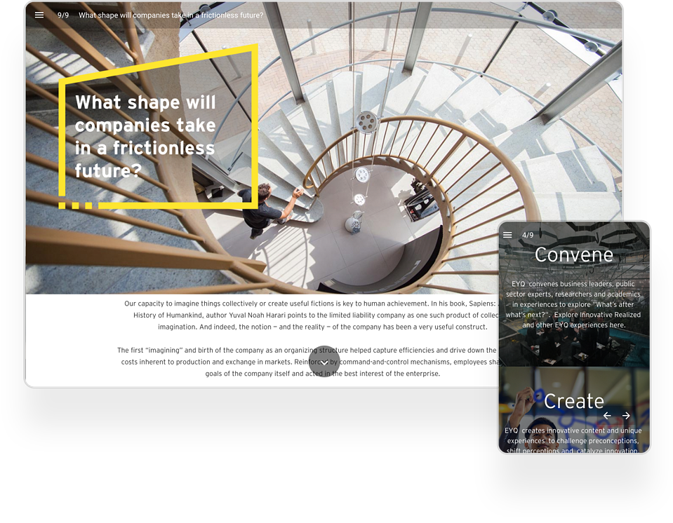 EY Interactive Magazine Example