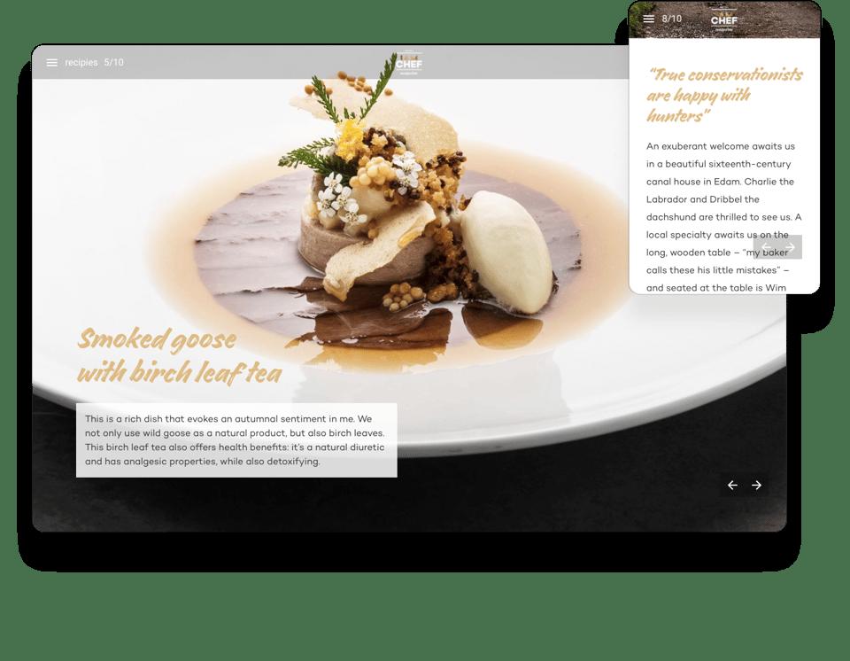 Nestle Interactive Magazine Example