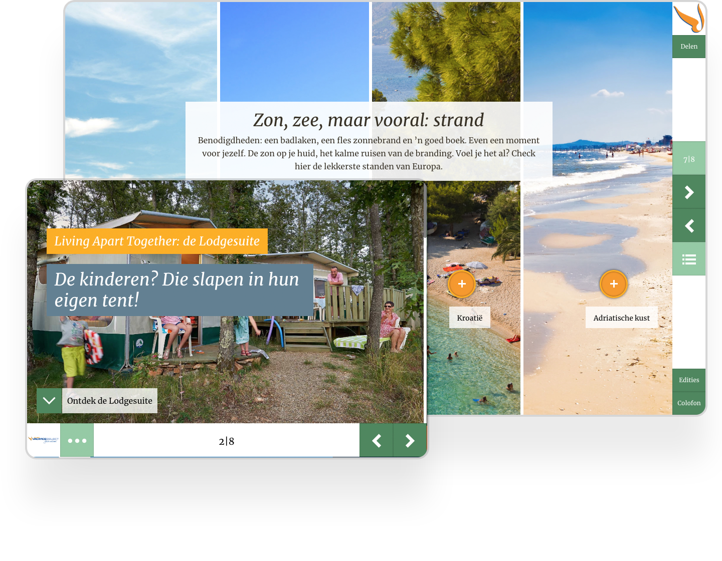 Vacanceselect increased conversion rates by 35% using Instant Magazine