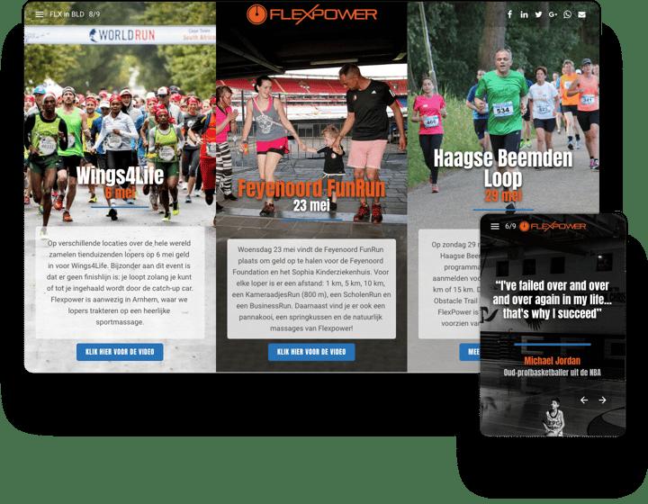 Flexpower Interactive Newsletter Example