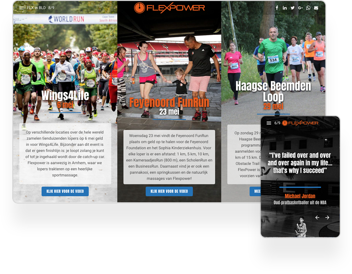 FlexPower Interactieve Nieuwsbrief Voorbeeld