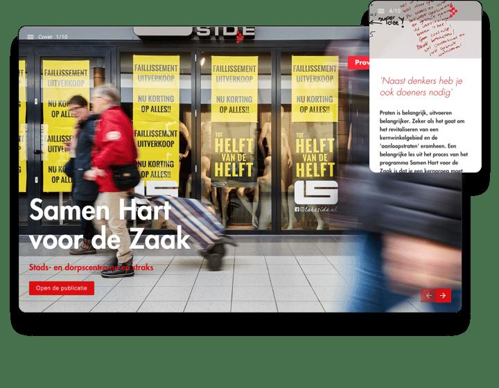 Province Noord-Brabant Interactive Report Example