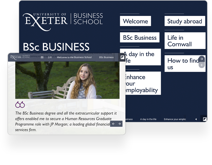 interactive example cataloge exeter