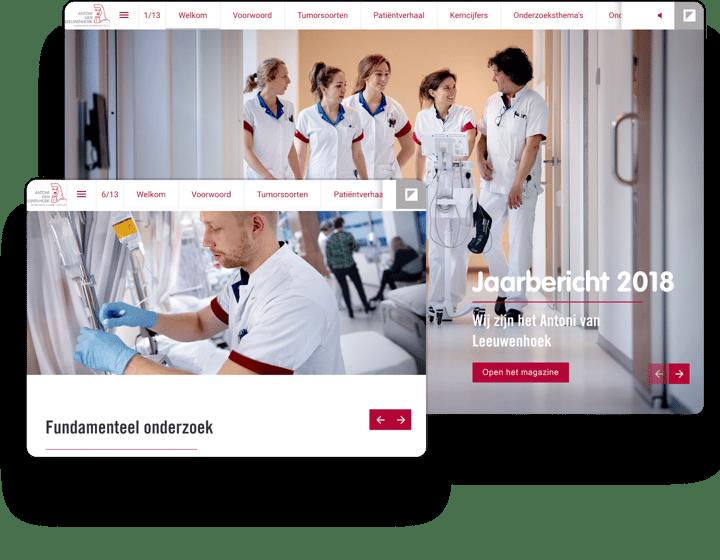 interactive example report antoni van leeuwenhoek